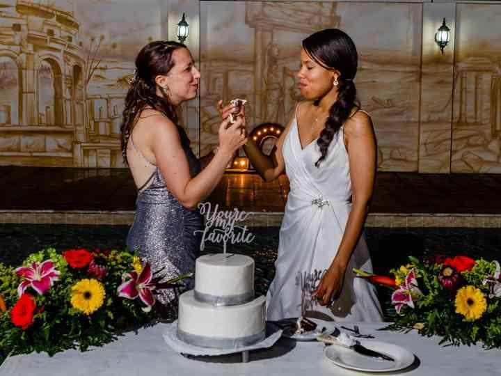The wedding of Andrea and Debra