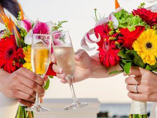 Debra and Andrea's Wedding in Oranjestad, Aruba 5