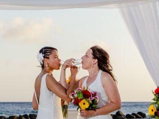 Debra and Andrea's Wedding in Oranjestad, Aruba 6