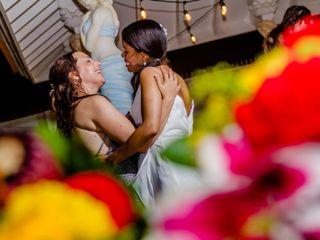 Debra and Andrea's Wedding in Oranjestad, Aruba 14