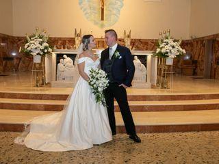 The wedding of Kathy and Mario