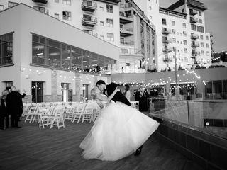 The wedding of Sarah and Taylor 1