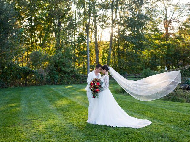 The wedding of Tori and Megan