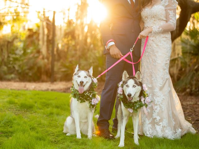 Tommy and Asia's Wedding in Osteen, Florida 1