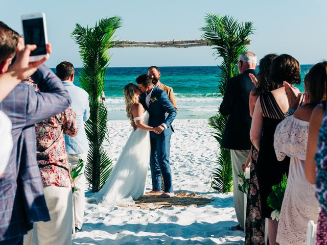 Zach and Brooke's Wedding in Destin, Florida 10