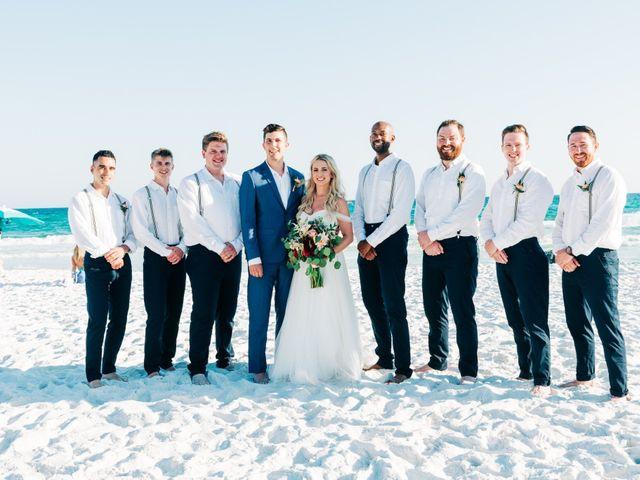 Zach and Brooke's Wedding in Destin, Florida 12