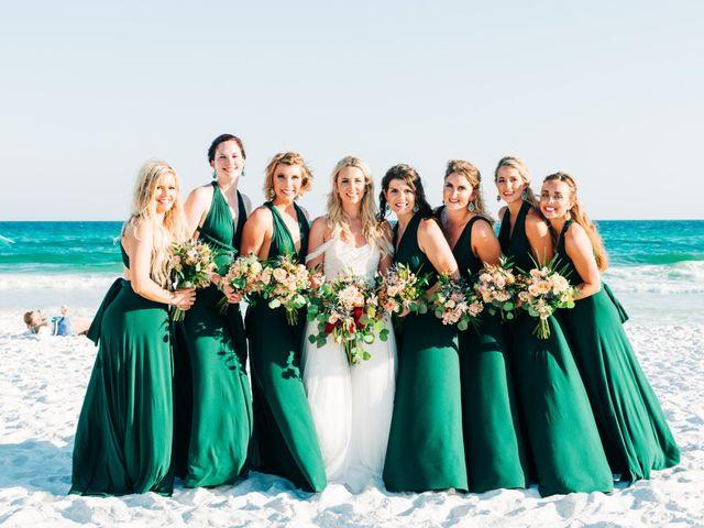 Zach and Brooke's Wedding in Destin, Florida 13