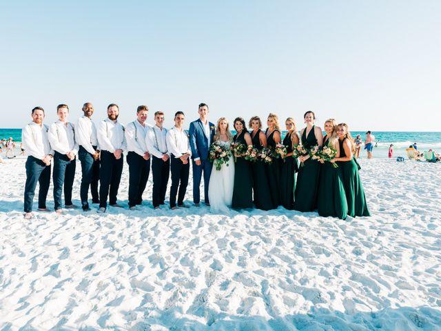 Zach and Brooke's Wedding in Destin, Florida 14