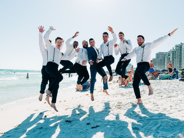 Zach and Brooke's Wedding in Destin, Florida 15