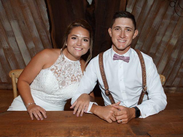 The wedding of Jessica and Garrett