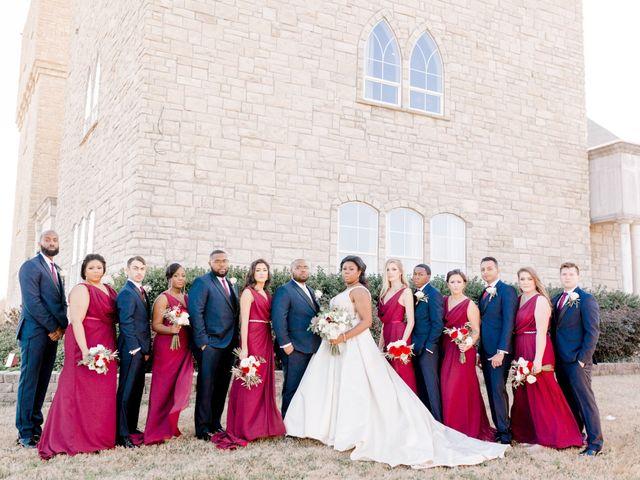 Stephen  and Shalyn's Wedding in Rockwall, Texas 5