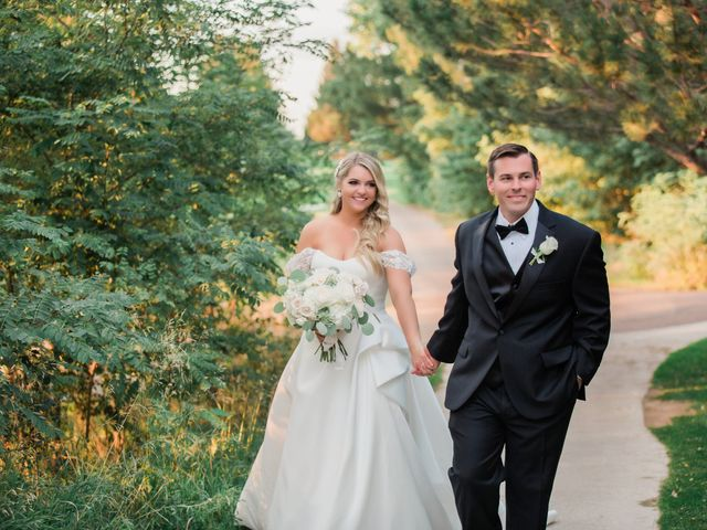 The wedding of Lauren and Ted