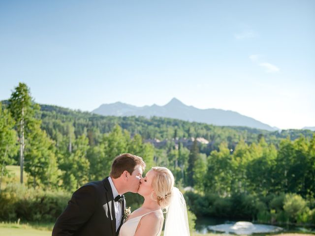 Taylor and Sarah's Wedding in Telluride, Colorado 11