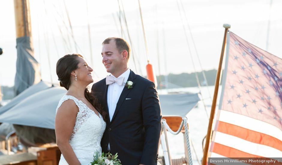 Brock and Kara's Wedding in Bristol, Rhode Island