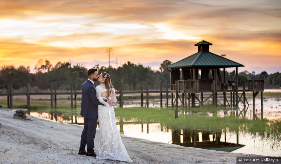 Tommy and Asia's Wedding in Osteen, Florida