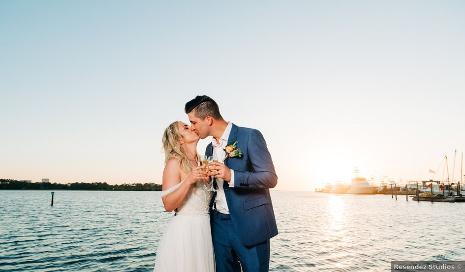 Zach and Brooke's Wedding in Destin, Florida