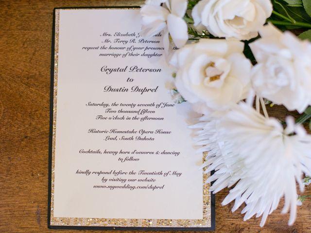 Crystal and Dustin's Wedding in Lead, South Dakota 1