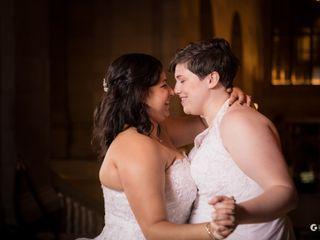 The wedding of Elizabeth and Danica