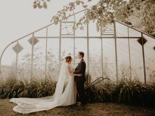 The wedding of Chrisina and David