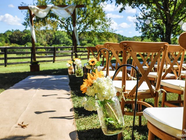 Dillion and Julie's Wedding in College Grove, Tennessee 1