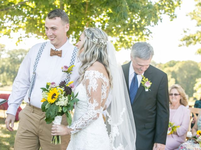 Dillion and Julie's Wedding in College Grove, Tennessee 5