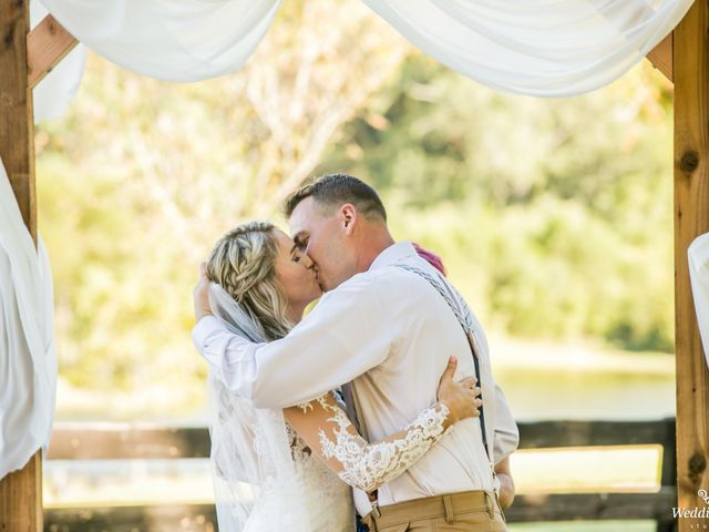 Dillion and Julie's Wedding in College Grove, Tennessee 7