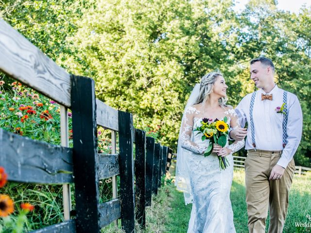 Dillion and Julie's Wedding in College Grove, Tennessee 8