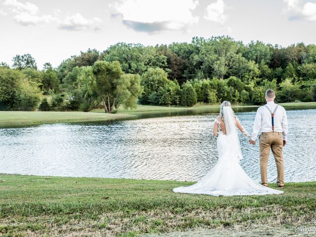 Dillion and Julie's Wedding in College Grove, Tennessee 12