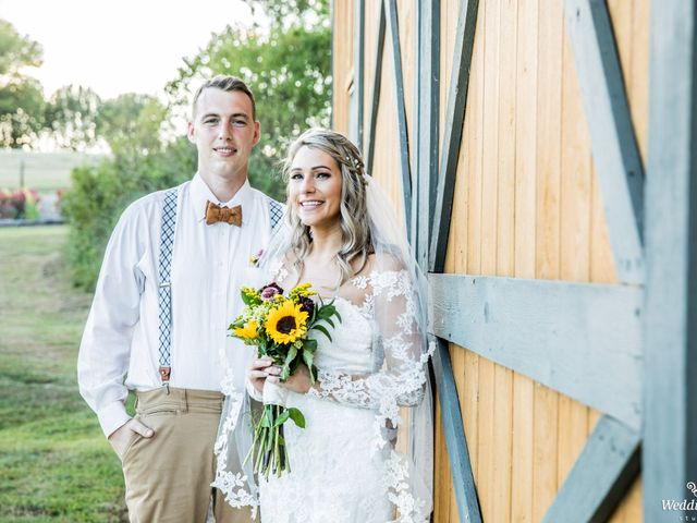 Dillion and Julie's Wedding in College Grove, Tennessee 16