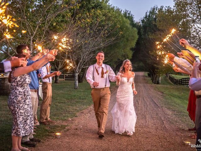 Dillion and Julie's Wedding in College Grove, Tennessee 19