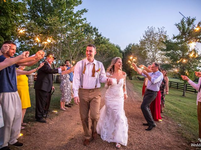 Dillion and Julie's Wedding in College Grove, Tennessee 20