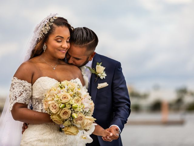 The wedding of Moessa and Dominic