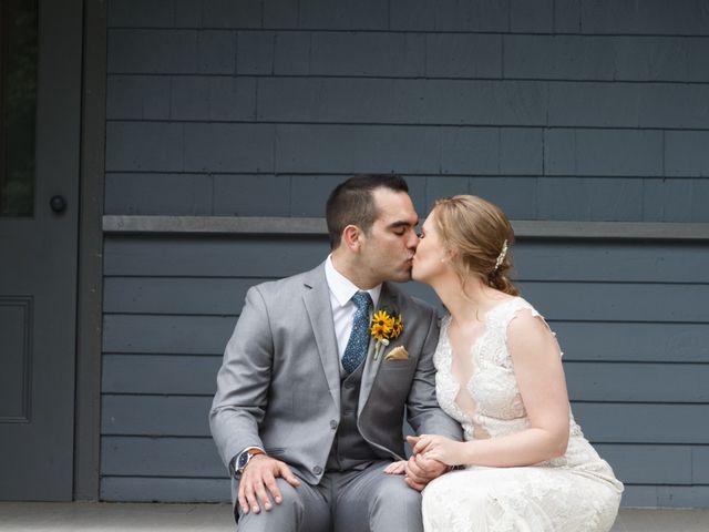 The wedding of Mike and Katrina