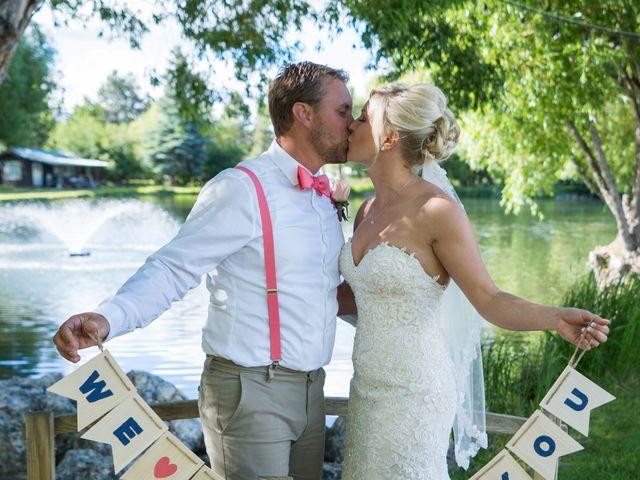 Nicole and Robbie's Wedding in Bozeman, Montana 10