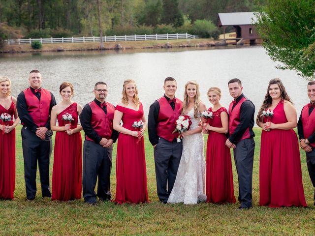 Bryce and Carly's Wedding in Trinity, North Carolina 6