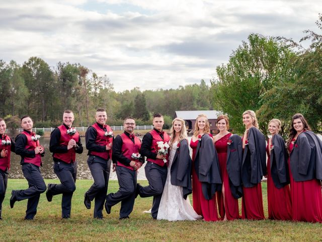 Bryce and Carly's Wedding in Trinity, North Carolina 7