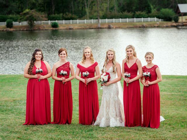 Bryce and Carly's Wedding in Trinity, North Carolina 10