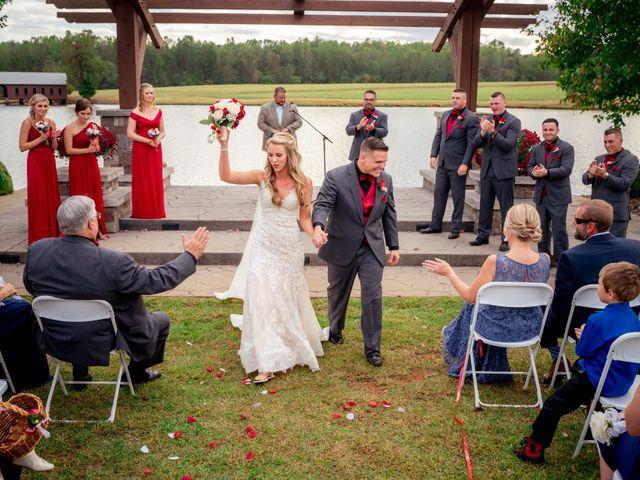Bryce and Carly's Wedding in Trinity, North Carolina 11
