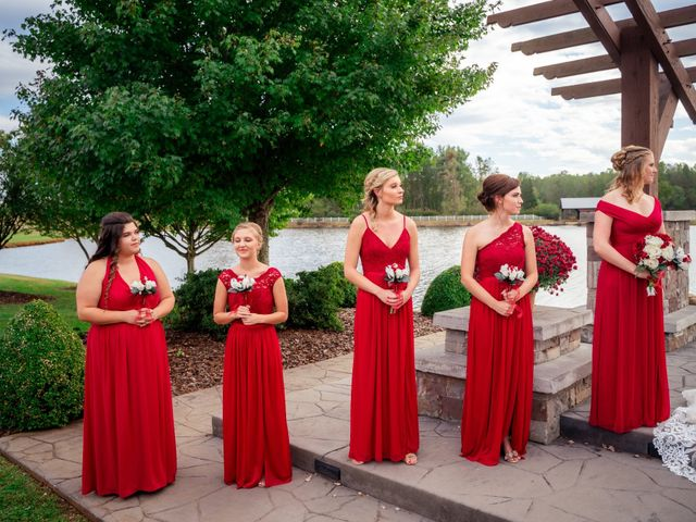 Bryce and Carly's Wedding in Trinity, North Carolina 13
