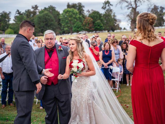 Bryce and Carly's Wedding in Trinity, North Carolina 16