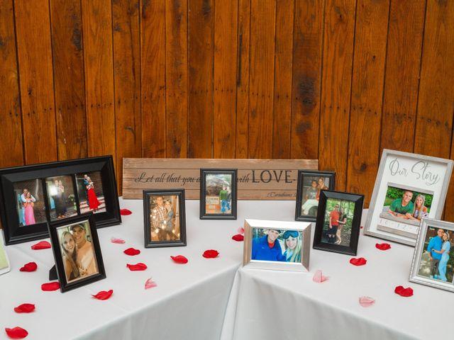 Bryce and Carly's Wedding in Trinity, North Carolina 19
