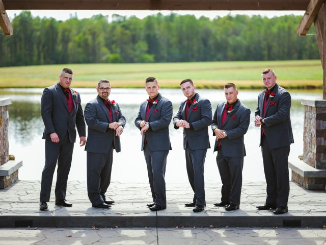 Bryce and Carly's Wedding in Trinity, North Carolina 26