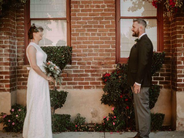 The wedding of Zara and Michael