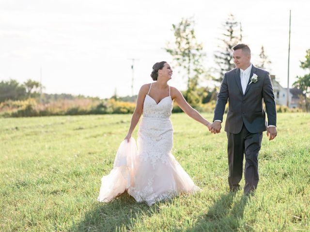 The wedding of Elizabeth and Chris