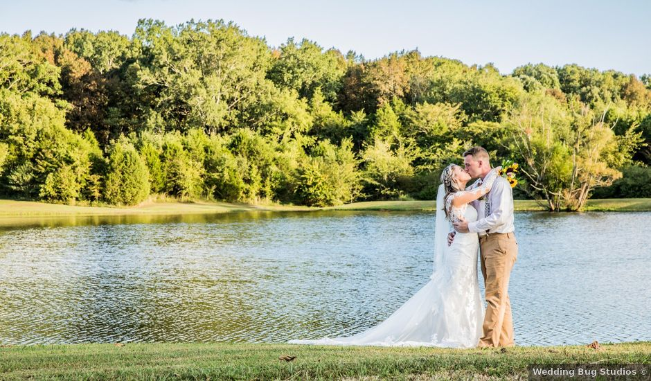 Dillion and Julie's Wedding in College Grove, Tennessee