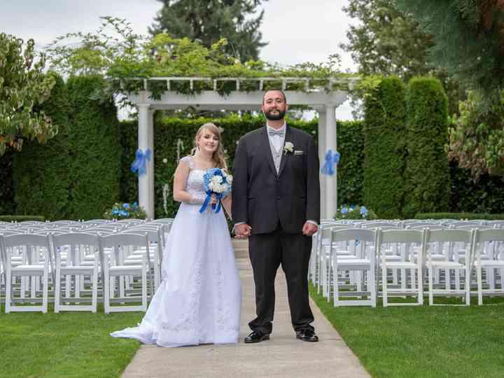 The wedding of Becca and Adam