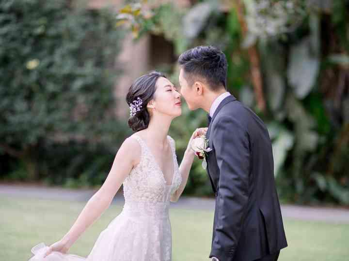 The wedding of Jane and Jongbum