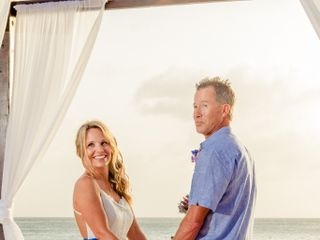 Ricky and Samantha's Wedding in Oranjestad, Aruba 8