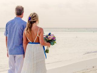 Ricky and Samantha's Wedding in Oranjestad, Aruba 11