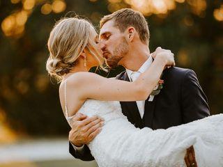 The wedding of Evan and Baylee
